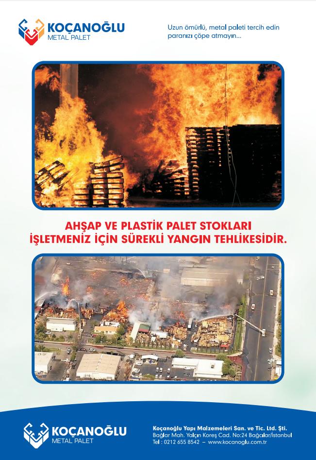 Metal Palet - Koçanoğlu LTD. ŞTİ. - Metal Palet